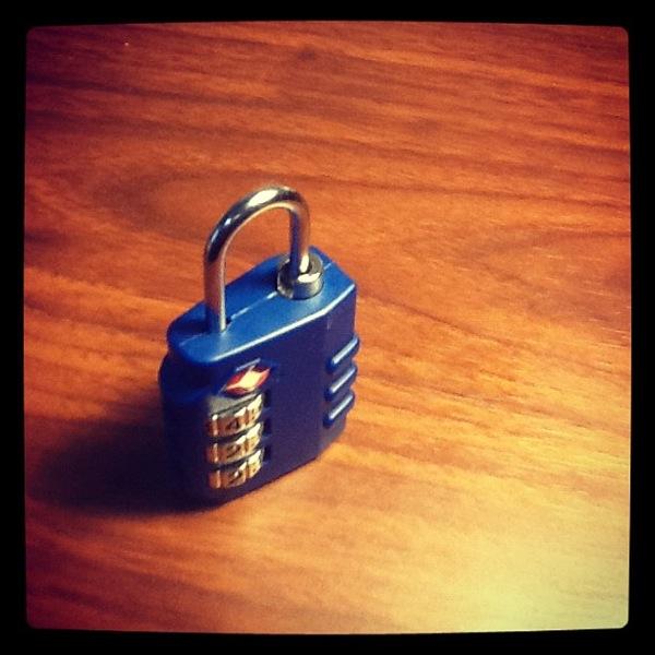 Travel Abroad Scavenger Hunt: Security Locks