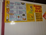 """Fish Fry"" area menu"