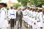 Governor General Inspecting by Yontalay Bowe