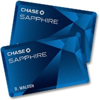 Shout out: Chase Visa Sapphire Preferred Credit Card