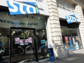 STA Travel office in London!