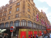 Harrods is the largest department store in the UK. The second-largest store is only about half the side of Harrods.