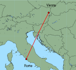 vienna to rome